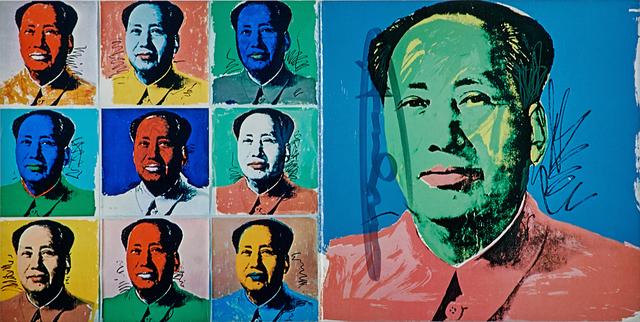 Andy Warhol, 'Mao (Invitation card)', 1972, Rago/Wright