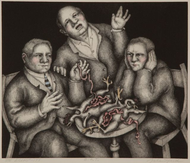 , 'The Economists,' 2015, Ruiz-Healy Art