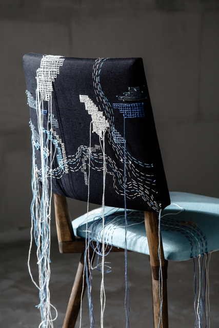 , 'Duo chairs,' 2018, The DOT home