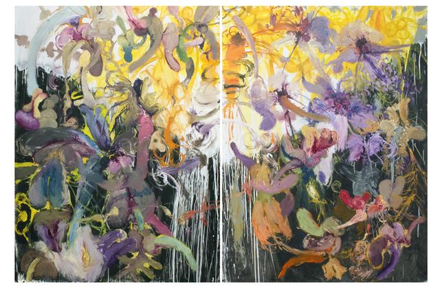Angel Ricardo Ricardo Ríos, 'La caída de los ángeles rebeldes (diptych)', 2016, Madison Gallery