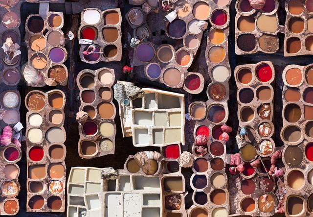 Katrin Korfmann, 'Choura, Fes, 11th Century Tannery, Morocco', 2018, Kopeikin Gallery