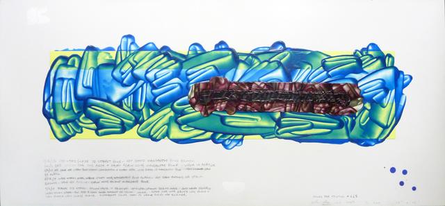 David Reed, 'Color Study #15', 2017, Peter Blum Gallery