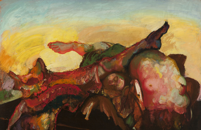 , 'Torso and Limbs with Yellow Sky,' ca. 1950, ACA Galleries