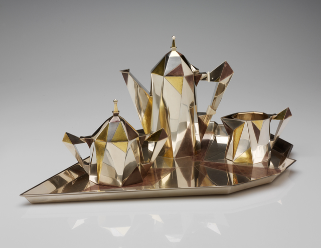 Erik Magnussen, 'Cubic coffee service', 1927, RISD Museum