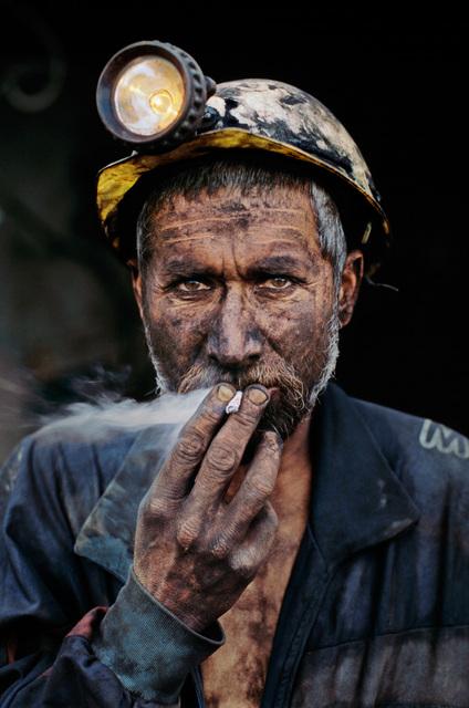 , 'SMOKING COAL MINER, POL-E-KHOMRI, AFGHANISTAN,' 2002, Huxley-Parlour