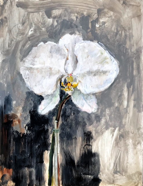 , 'Orchid,' 2018, The LODGE