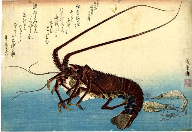 , 'Crayfish, Two Shrimp and Poetry,' , Newark Museum