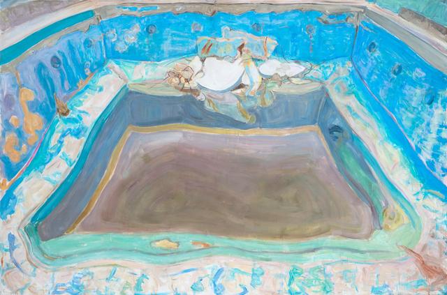 , 'Pool II,' 2017, DAS ESSZIMMER