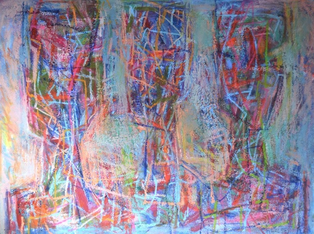 , 'Spectators,' 1990, The George Gallery