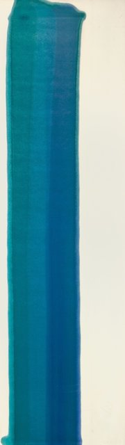 Morris Louis, 'Blue Pilaster II', 1960, Heritage Auctions