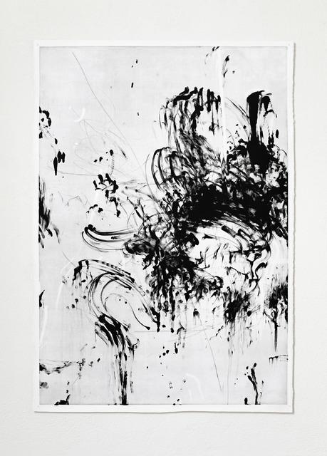 , 'ohne Titel (Monotypie),' 2011, Nusser & Baumgart