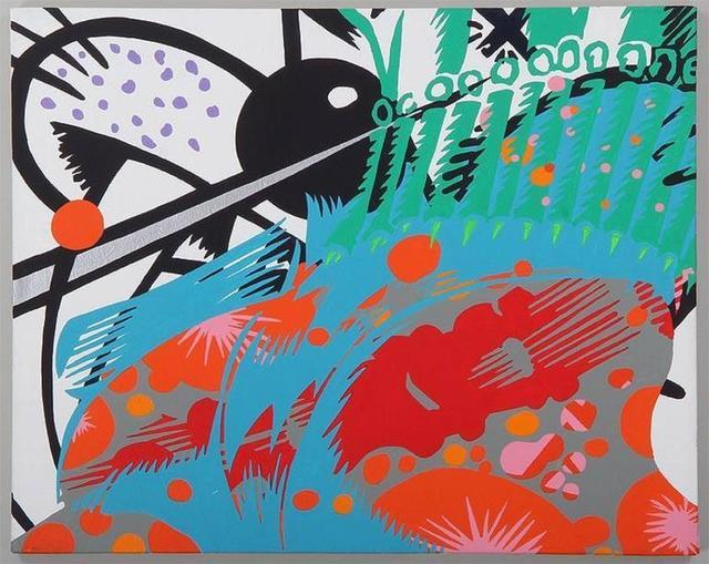 Robert Reitzfeld, 'Untitled Painting from Cartoon Series', 1990-1999, Lions Gallery