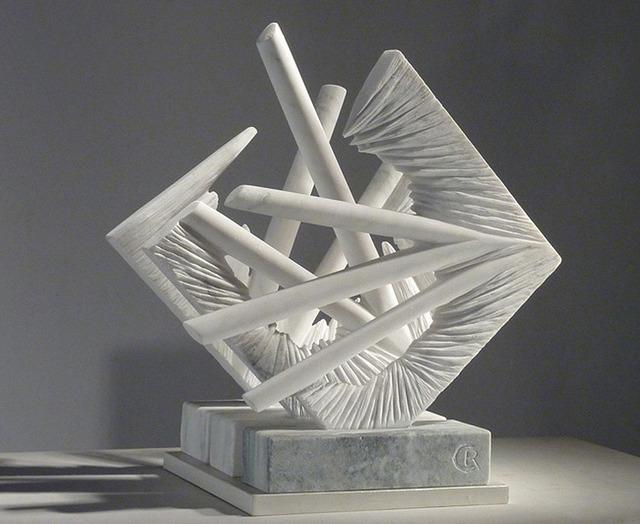 Caroline Ramersdorfer, 'Inner View Open', 2012, Sculpture, Colorado marble, C. Grimaldis Gallery