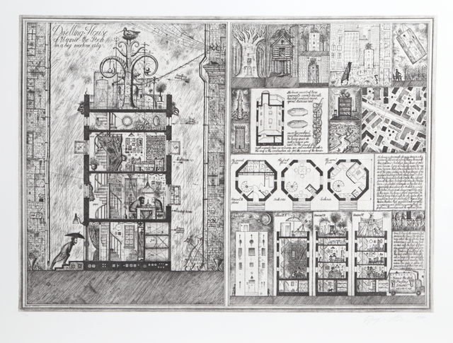 Brodsky & Utkin, 'Dwelling House of Winnie the Pooh from Brodsky and Utkin: Projects 1981 - 1990', 1990, RoGallery