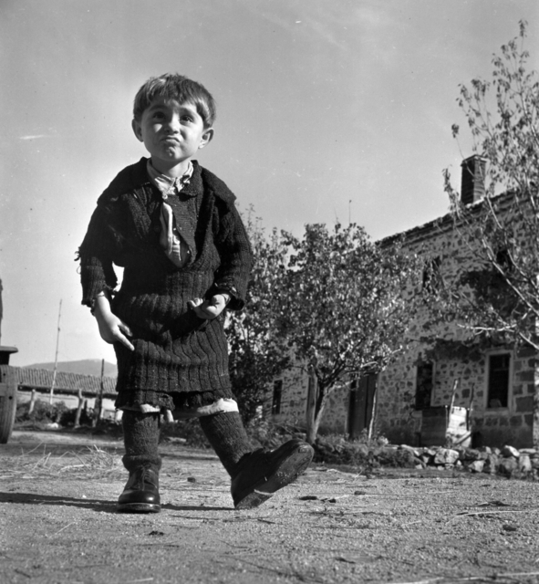 , 'Elefteria and her new shoes,' 1949, °CLAIR Galerie