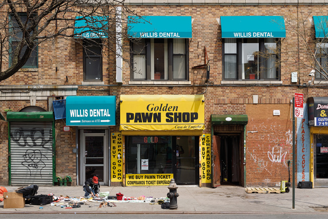 , 'Golden Pawn Shop, Bronx,' 2013, carlier | gebauer