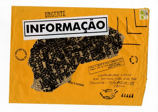, 'Informação,' ca. 1980, Galeria Nara Roesler