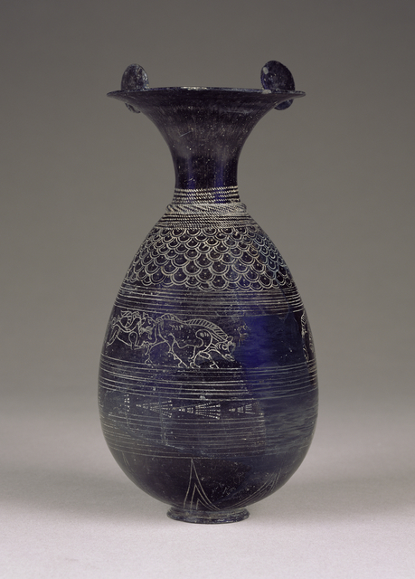 'Bucchero Olpe',  about 640 -620 B.C., J. Paul Getty Museum