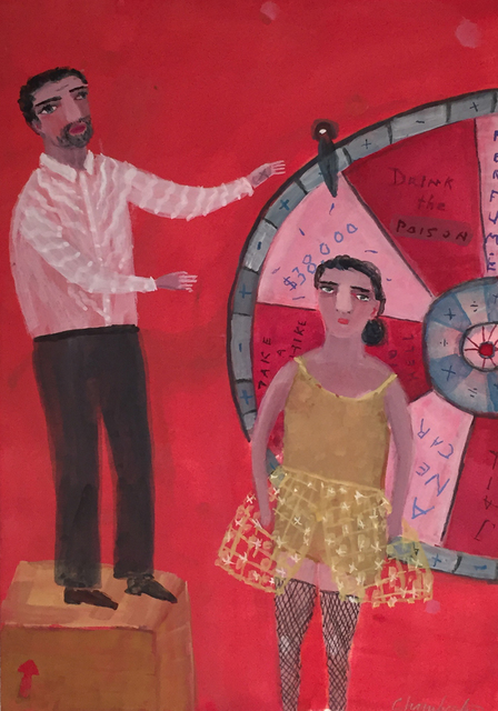 , 'Wheel of Fortune,' 2016, Lora Schlesinger Gallery