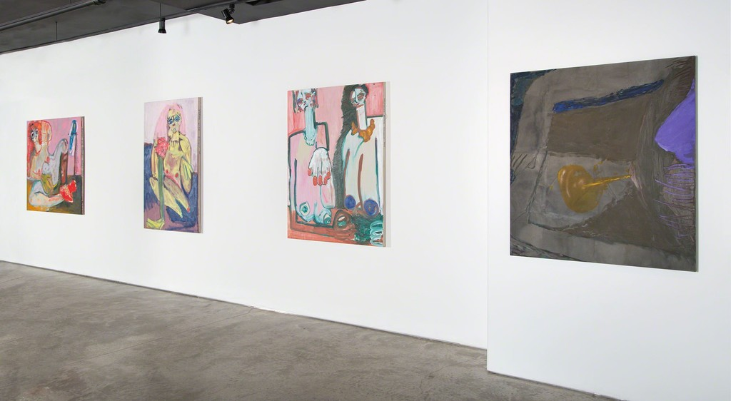 """Beyond the Gaze: Women Painting Women"" at Garis & Hahn, 2016"