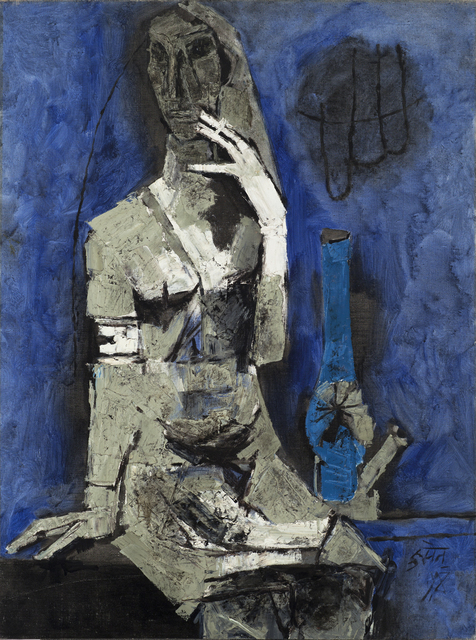, 'Virgin Night,' 1964, Grey Art Gallery