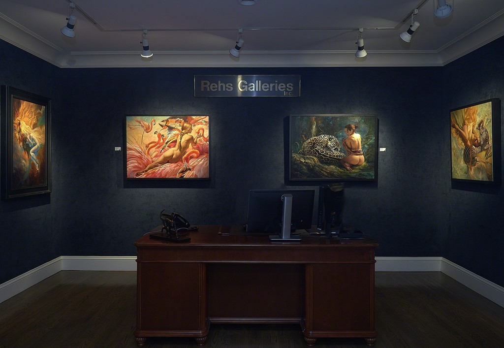 Left to right: Lion Nebula, Glory's Arrival, Sanctuary, Float
