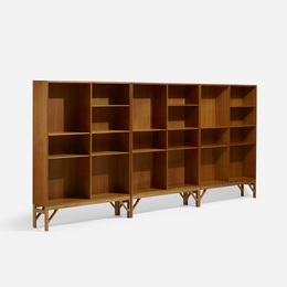 Bookcases, Set of Three