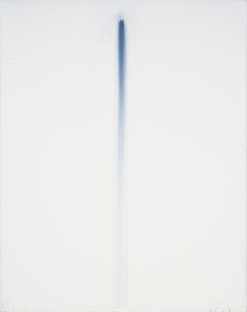 , 'White on Blue No. 6,' 2017, Pearl Lam Galleries