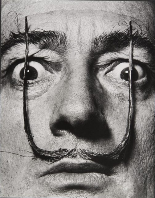 , 'Like Two Erect Sentries, My Mustache Defends the Entrance to My Real Self, Dalí's Mustache,' 1954, Musée de l'Elysée