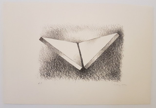 , 'Two triangles dithedral,' 1973, Cerbera Gallery