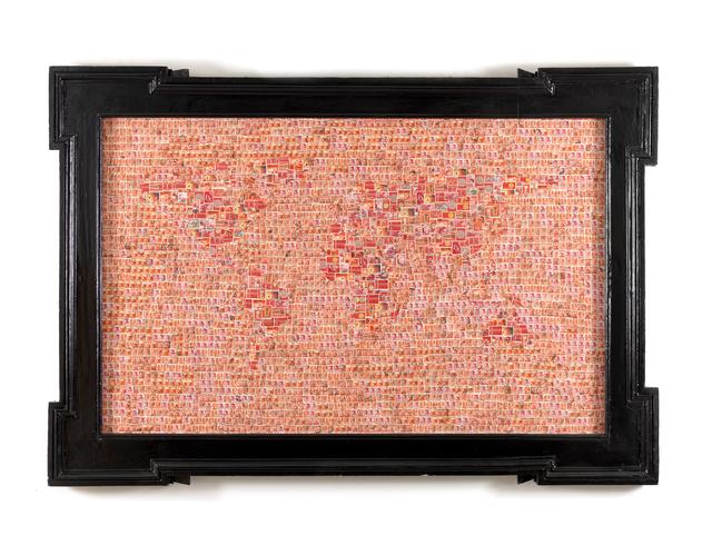 , 'Planisfero (Red-Red),' 2011, Francesca Minini