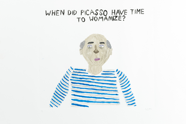 , 'When Did Picasso Have Time to Womanize?,' 2015, Childs Gallery