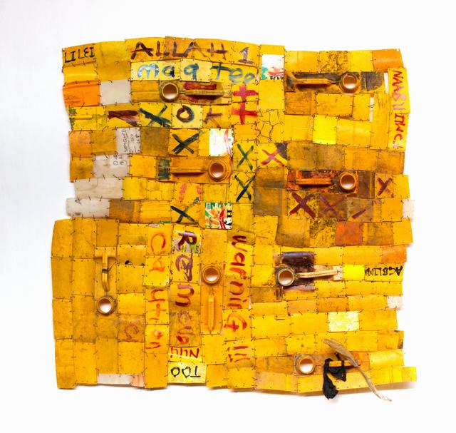 Serge Attukwei Clottey, 'Trials and Tribulation', 2015, Jane Lombard Gallery