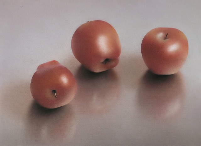 , 'THREE RED DELICIOUS APPLES,' 1994, Jerald Melberg Gallery