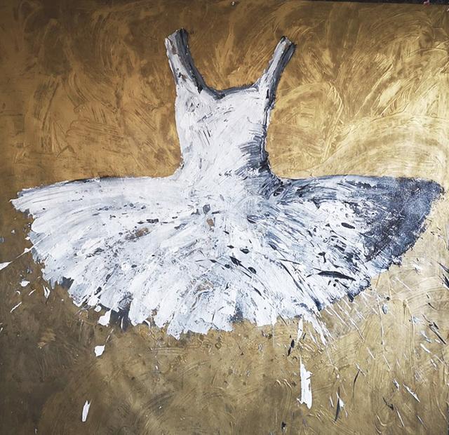 , 'White Dress,' 2018, Galleria Ca' d'Oro