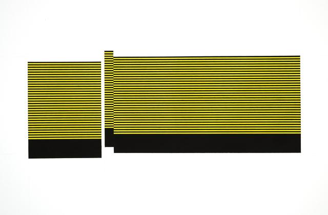 , 'Field/Terrace (Yellow),' 2016, Joseph Nease Gallery