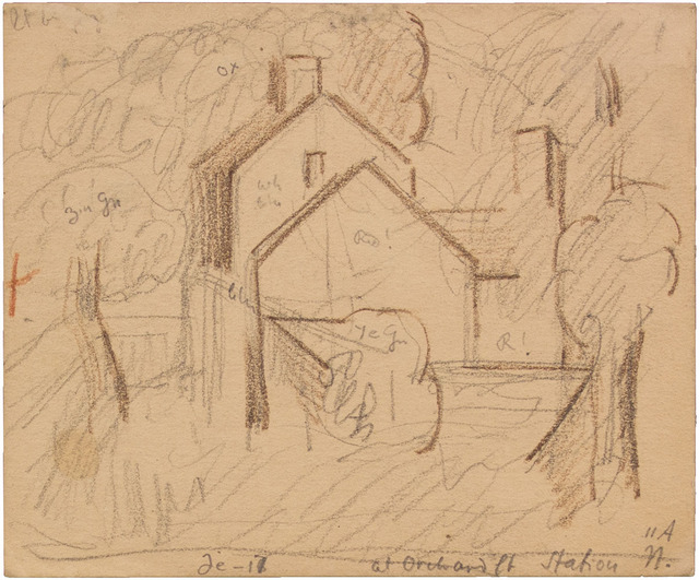 , 'AT ORCHARD PT STATION,' 1917, Jerald Melberg Gallery