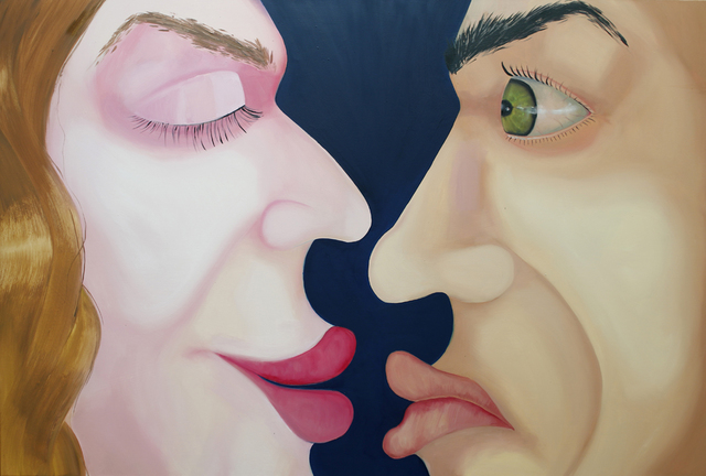 , 'The Kiss,' 2016, Raster