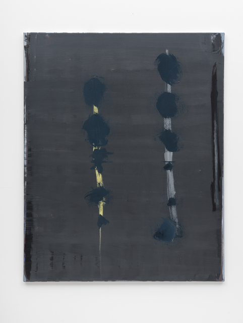 Özcan Kaplan, 'Untitled, 2018, No. 6', 2018, Painting, Oil on untreated cotton, FELD+HAUS