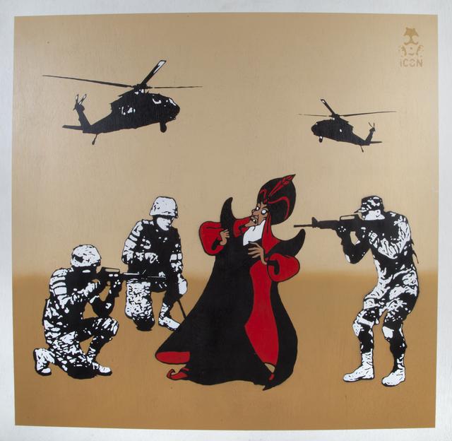 Trust iCON, 'War on Terror', 2013, Julien's Auctions