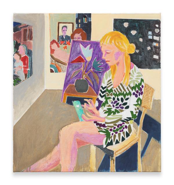 Armin Boehm, 'Emelie in the Artist's Studio', 2016, Hans Alf Gallery