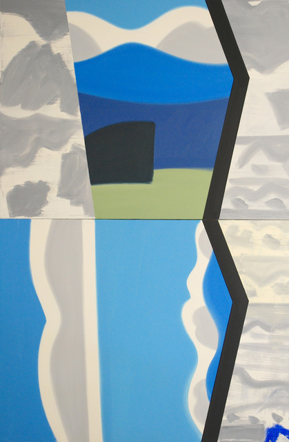 , 'Blue Remembered Hill #6,' 2001, David Richard Gallery