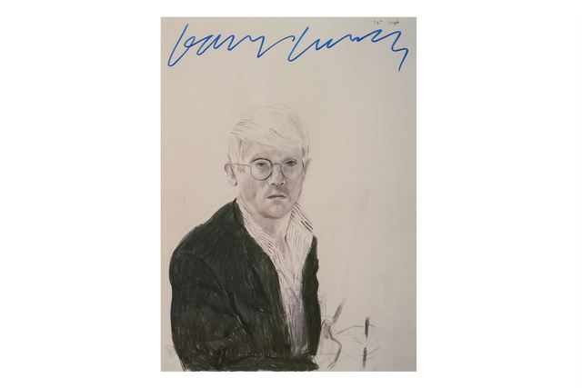 David Hockney, 'Self Portrait', Chiswick Auctions