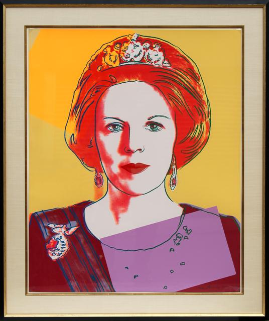 Andy Warhol, 'Queen Beatrix of the Netherlands (FS.II.341)', 1985, RoGallery