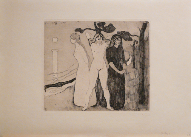 Edvard Munch, 'Kvinnen II (The Woman II)', 1895, John Szoke