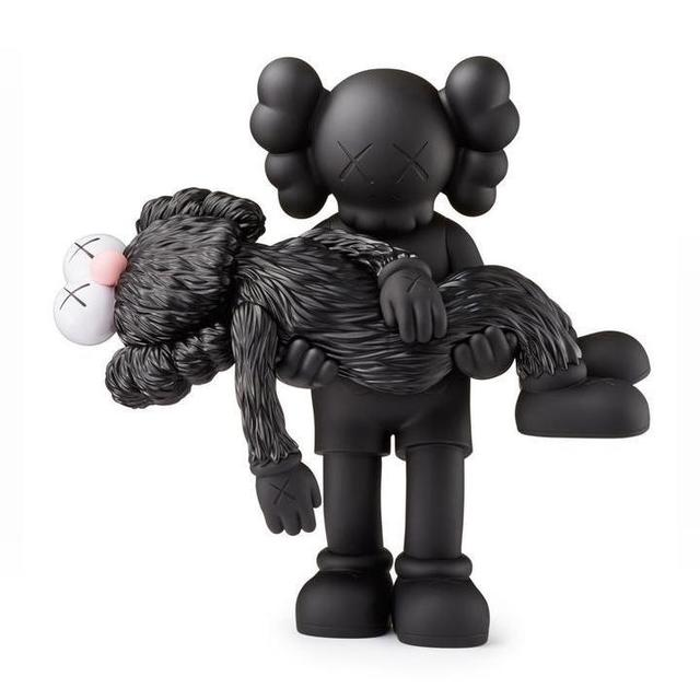 KAWS, 'GONE (BLACK)', 2019, Marcel Katz Art