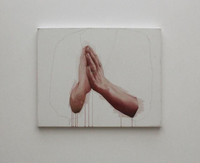 , 'Anche tu eri le mie mani,' 2012, Boccanera