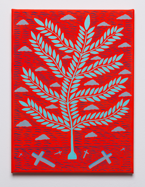 , 'A Roman feast,' 2016, Hans Alf Gallery