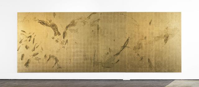 , 'Sweat print no.20, 6 meter movement,' 2018, SMAC