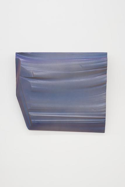 , 'Intermission painting #12 cyan to purple,' 2014, Almine Rech